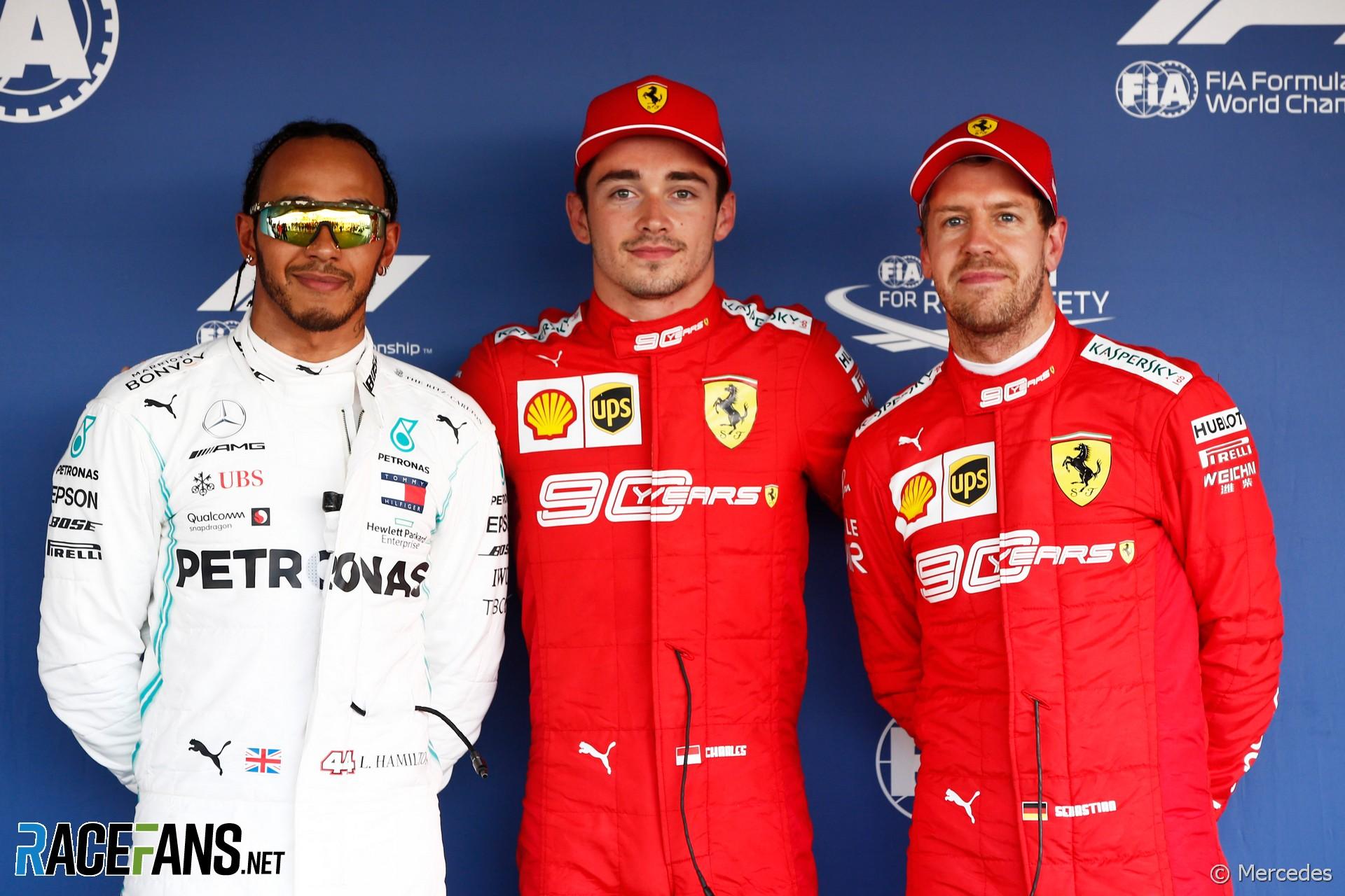 Lewis Hamilton, Charles Leclerc, Sebastian Vettel, Sochi Autodrom, 2019