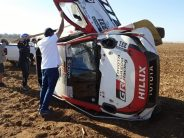 Alonso not classified on rally debut after rolling his Hilux