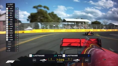 The new graphics package had teething problems