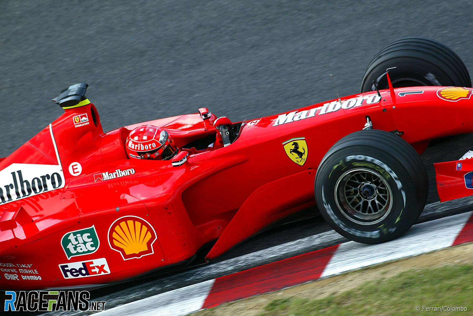 Michael Schumacher, Ferrari, 2001