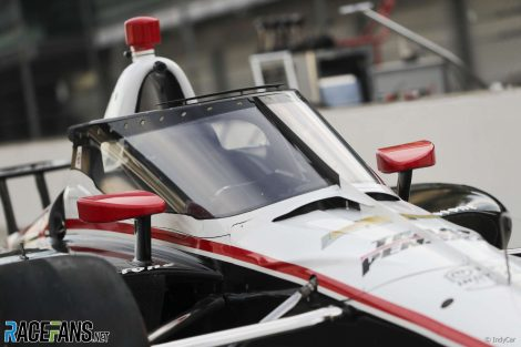 Will Power, Penske, essai IndyCar Aeroscreen, Indianapolis Motor Speedway, 2019