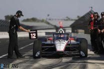 Will Power, Penske, IndyCar Aeroscreen test, Indianapolis Motor Speedway, 2019