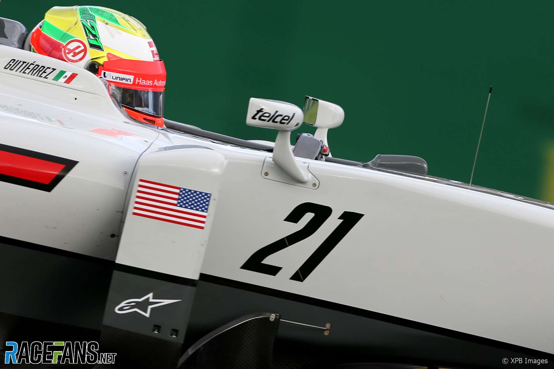 Esteban Gutierrez, Haas, Melbourne, 2016