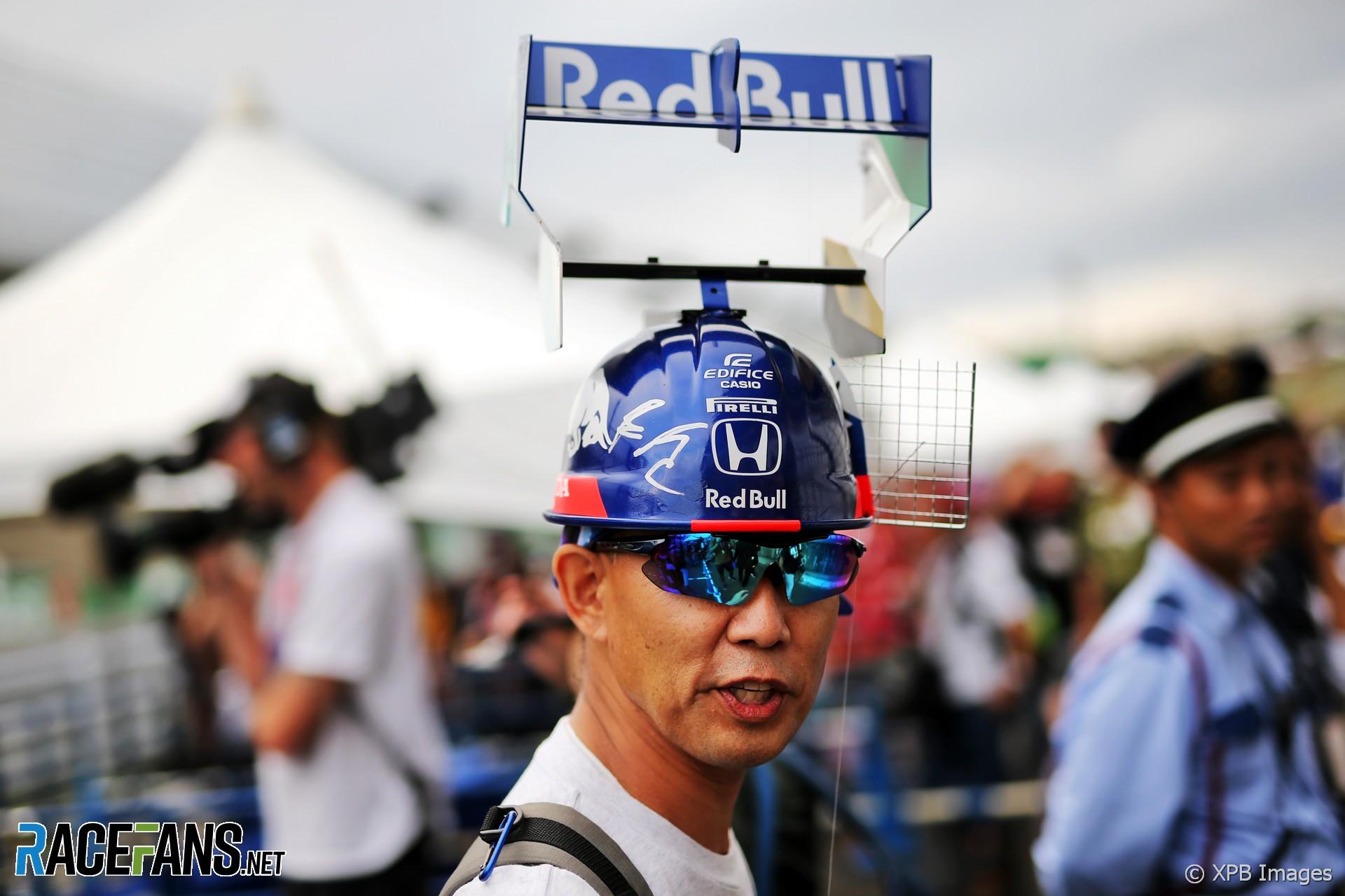 Toro Rosso fan, Suzuka, 2019