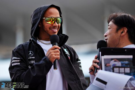 Lewis Hamilton, Mercedes, Suzuka, 2019