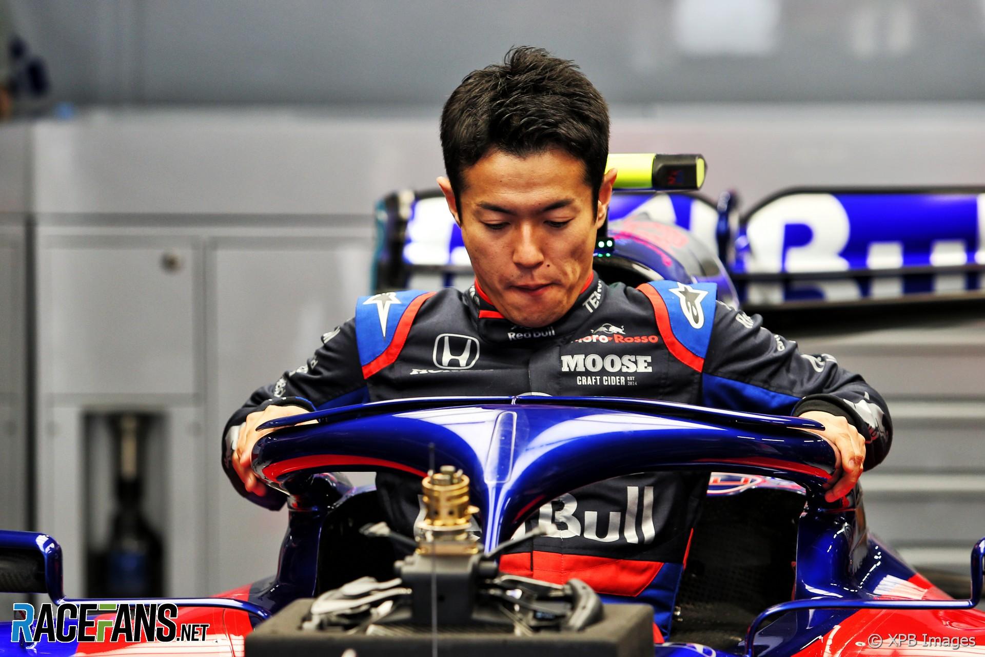 Naoki Yamamoto, Toro Rosso, Suzuka, 2019