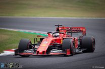 Vettel storms to record-breaking pole at windy Suzuka