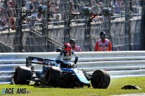 Williams says Kubica's crash shows she made right decision to remove new wing