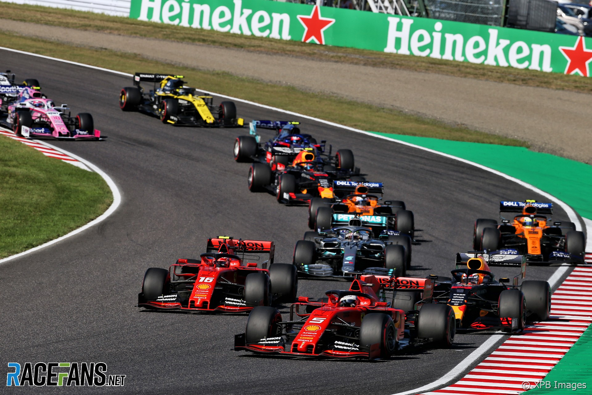 """First-lap collision with Verstappen """"just a tricky situation"""""""