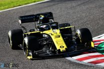 Updated championship points and Japanese Grand Prix result following Renault's disqualification