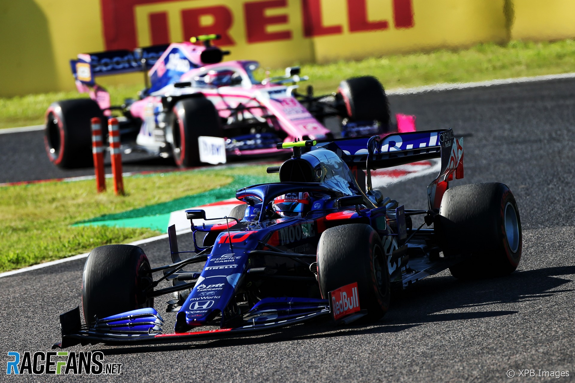 Gasly and Perez cleared over last-lap collision