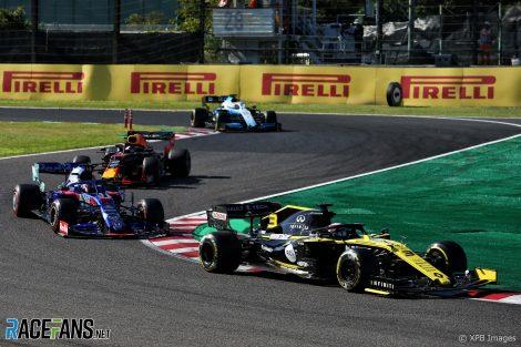 Daniel Ricciardo, Renault, Suzuka, 2019