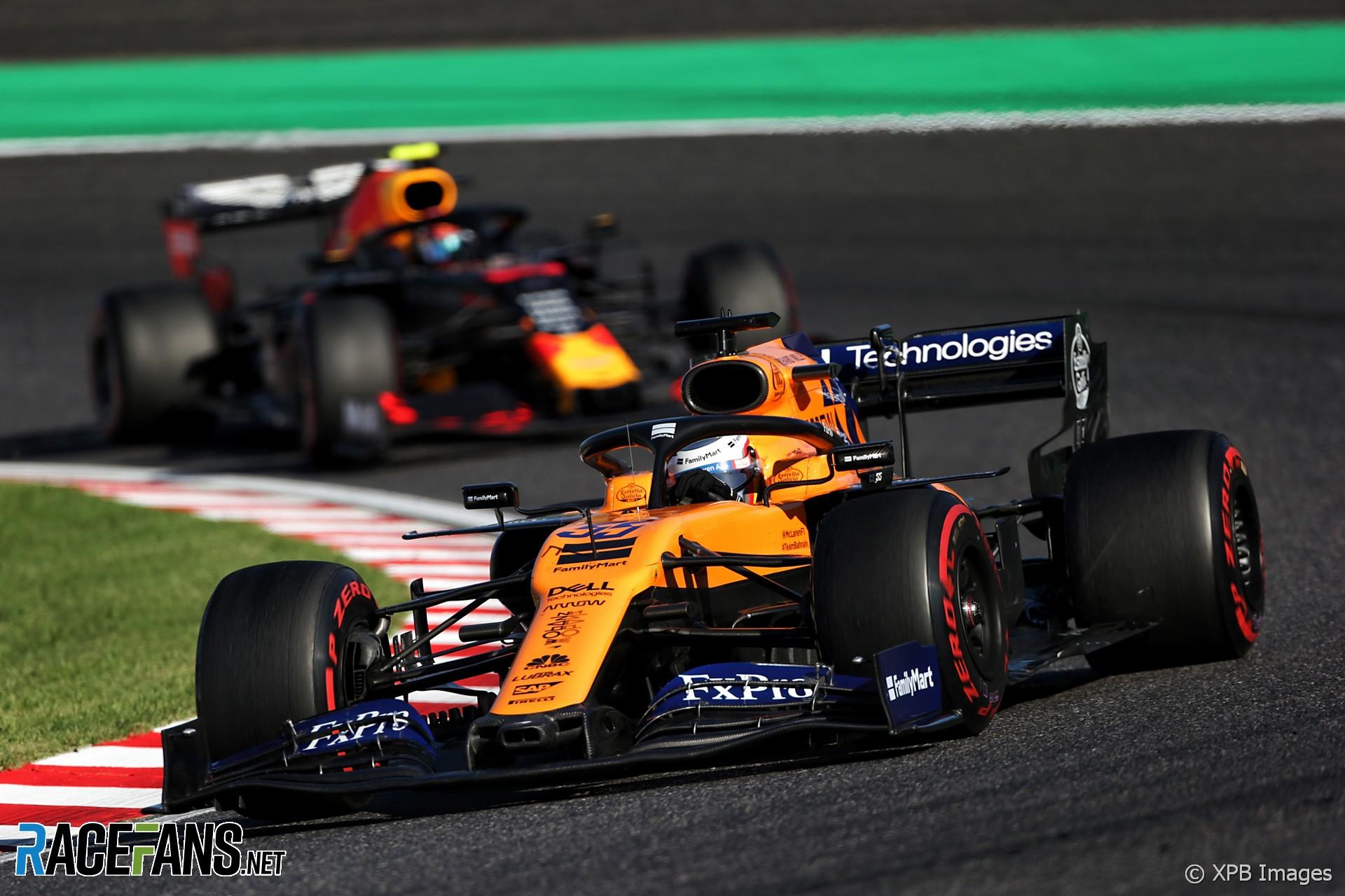 Carlos Sainz Jnr, McLaren, Suzuka, 2019
