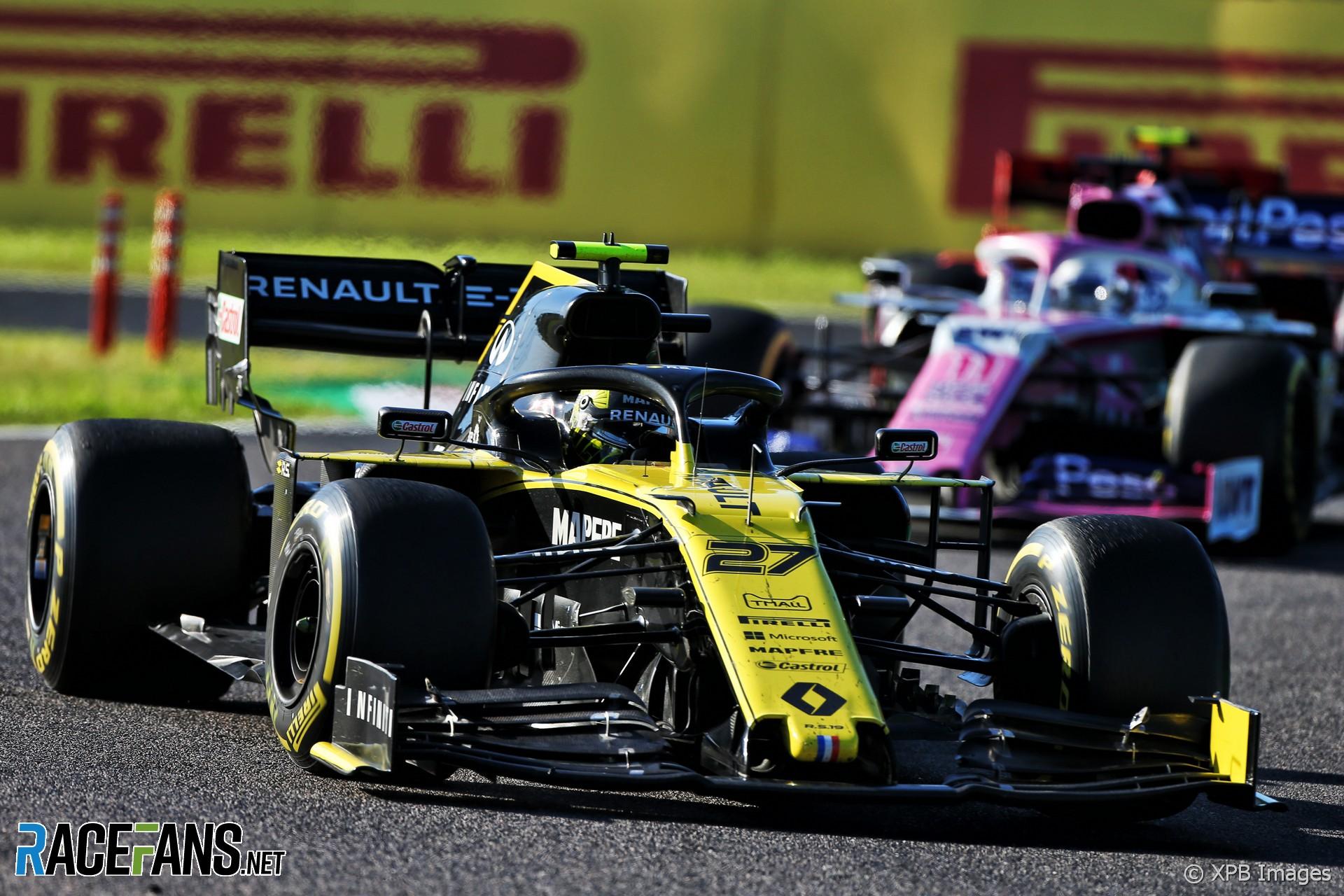 Nico Hulkenberg, Renault, Suzuka, 2019