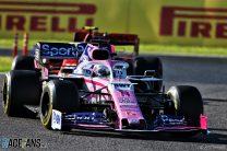 Sergio Perez, Racing Point, Suzuka, 2019