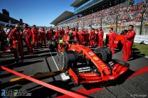 Ferrari are fastest for the first time since Japan 2019