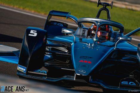 Stoffel Vandoorne, Mercedes, Formula E testing, Valencia, 2019
