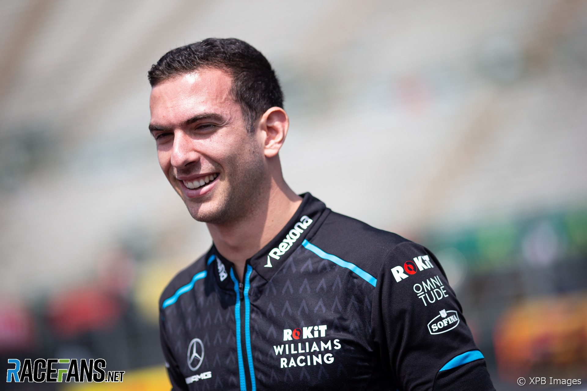Nicholas Latifi, Williams, Autodromo Hermanos Rodriguez, 2019