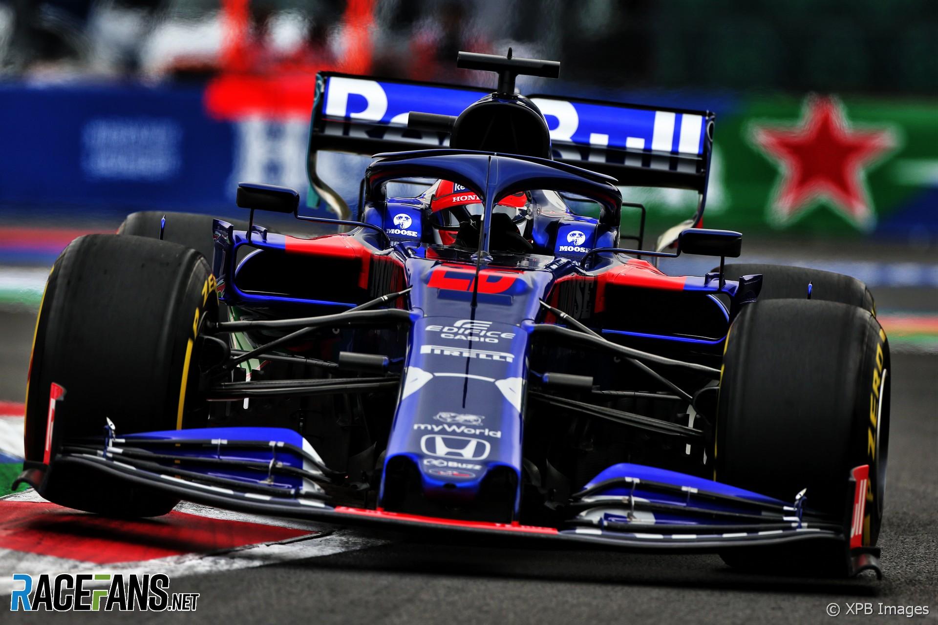 Daniil Kvyat, Toro Rosso, Autodromo Hermanos Rodriguez, 2019