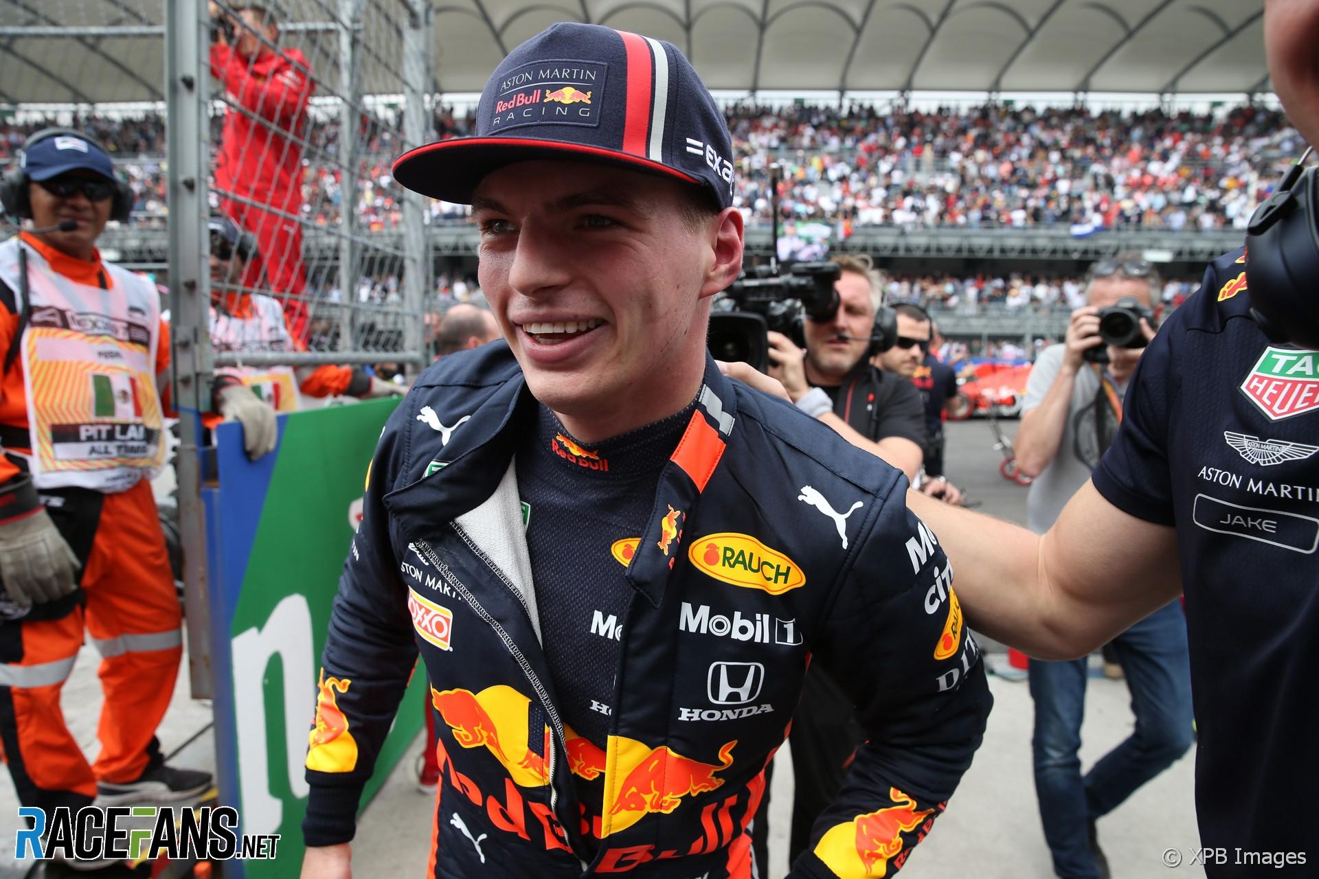 Max Verstappen, Red Bull, Autodromo Hermanos Rodriguez, 2019