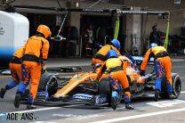 Norris's pit stop problem forced McLaren to leave Sainz out