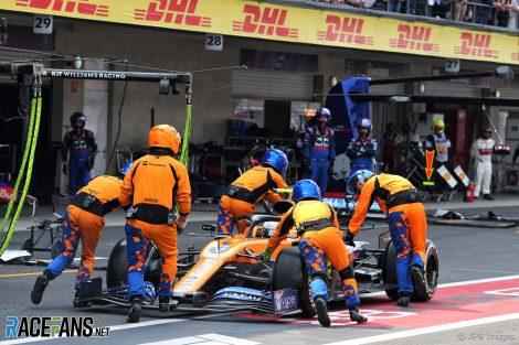Lando Norris, McLaren, Autodromo Hermanos Rodriguez, 2019