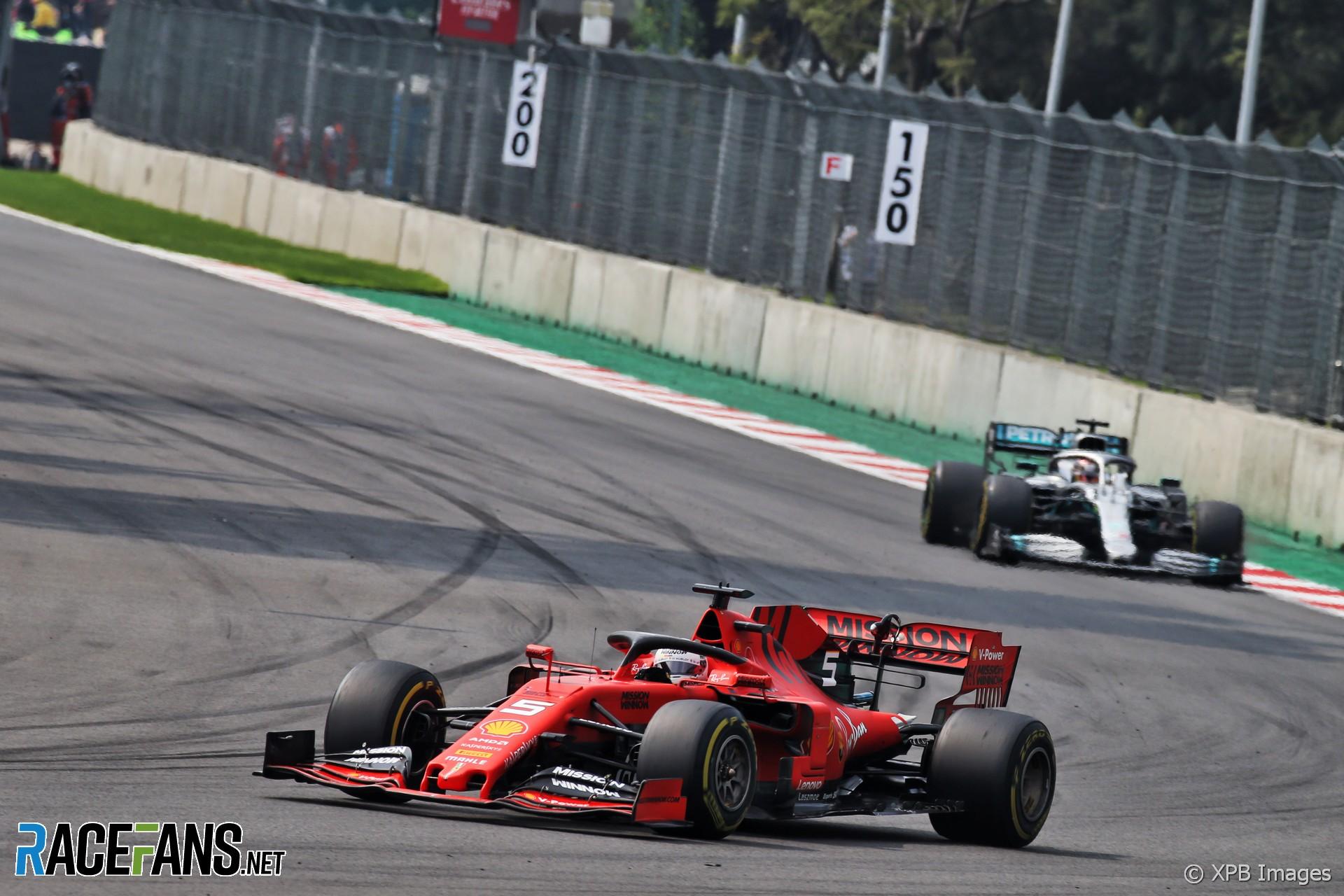 Sebastian Vettel, Ferrari, Autodromo Hermanos Rodriguez, 2019