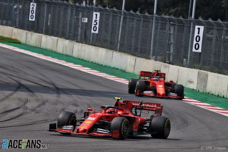 Charles Leclerc, Ferrari, Autodromo Hermanos Rodriguez, 2019