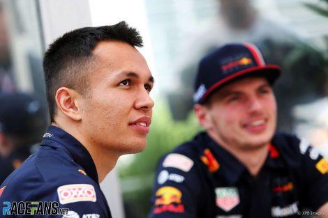 Alexander Albon, Max Verstppen, Red Bull, 2019