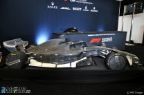 2021 F1 car wind tunnel model, Circuit of the Americas