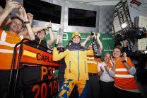 "Sainz thrilled with ""weird first podium"" after Hamilton penalty"