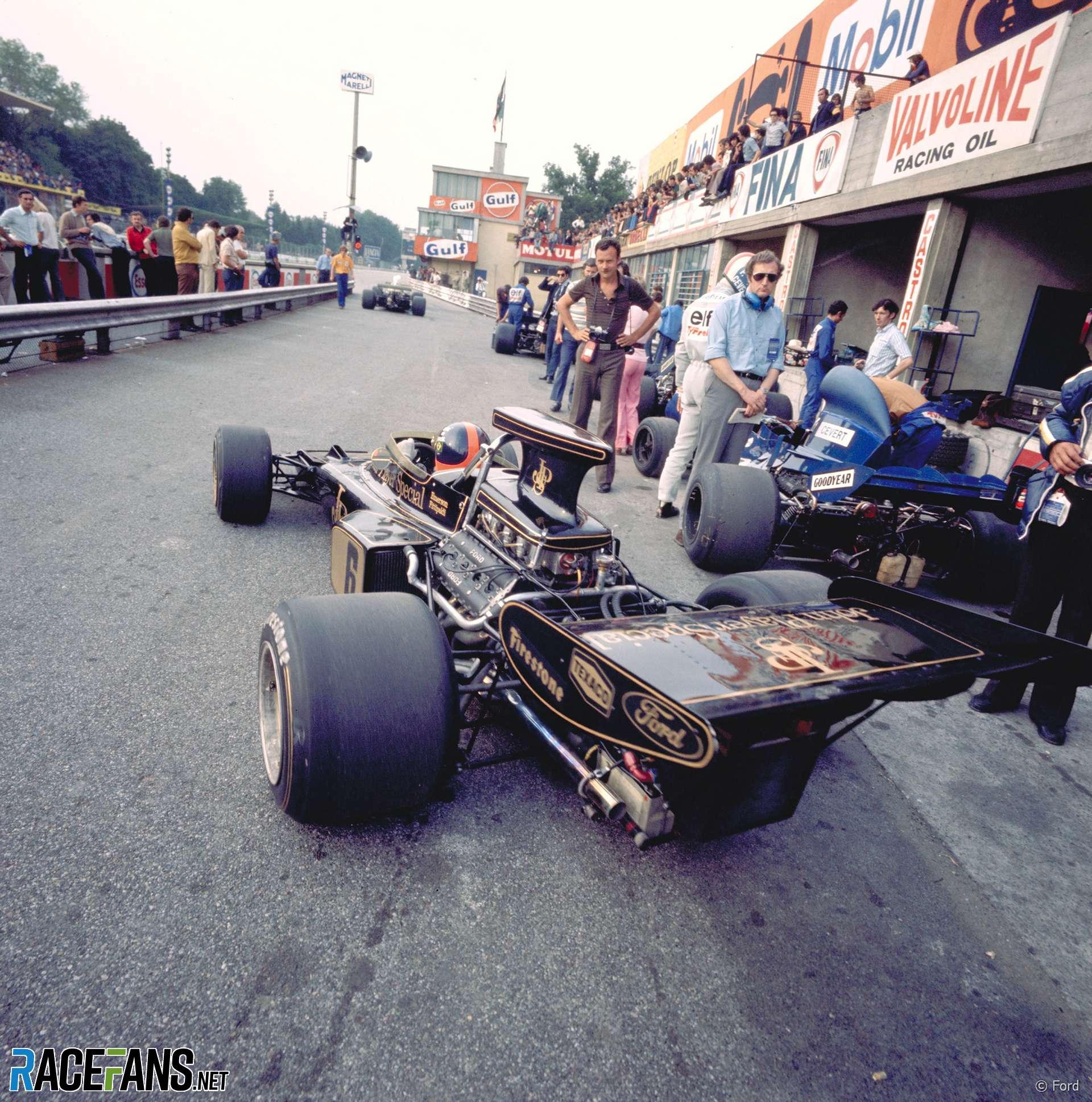 Emerson Fitipaldi, Lotus, Monza, 1972