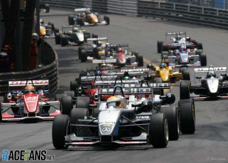 Start, Monaco, F3 Euroseries, 2004
