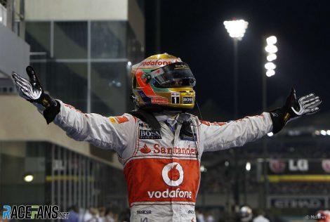 Lewis Hamilton, McLaren, Yas Marina, 2011