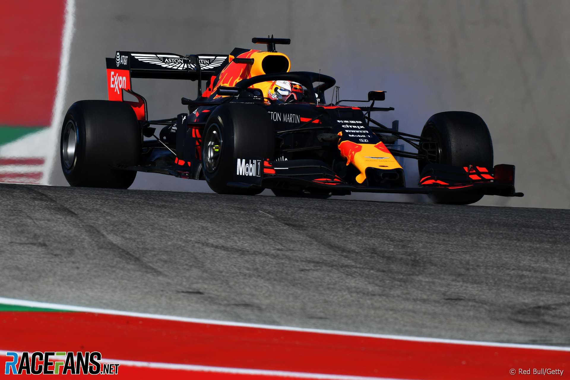 Verstappen fastest at cold and bumpy Austin track | 2019 United States Grand Prix first practice