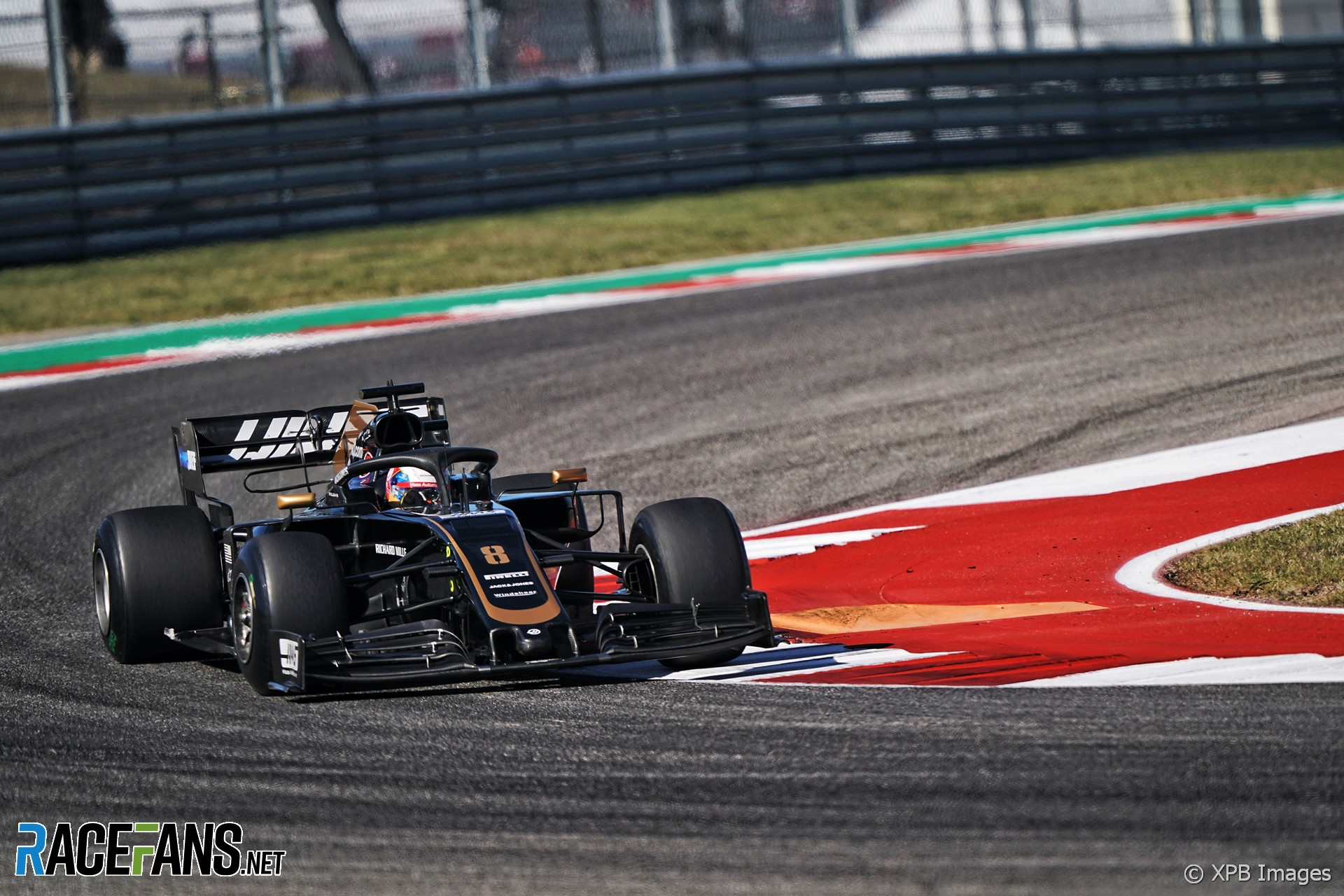 Romain Grosjean, Haas, Circuit of the Americas, 2019