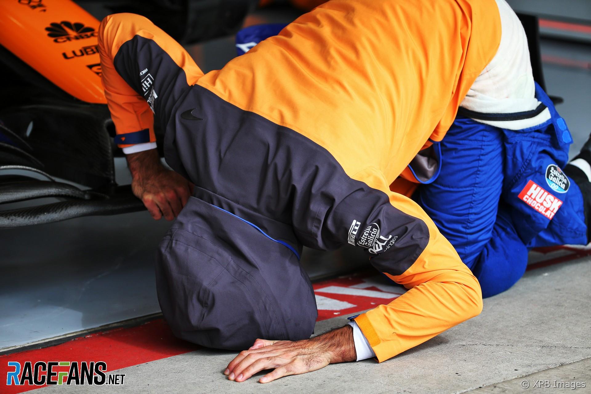 Carlos Sainz Jnr, McLaren, Circuit of the Americas, 2019