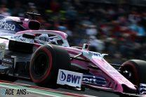 Sergio Perez, Racing Point, Circuit of the Americas, 2019