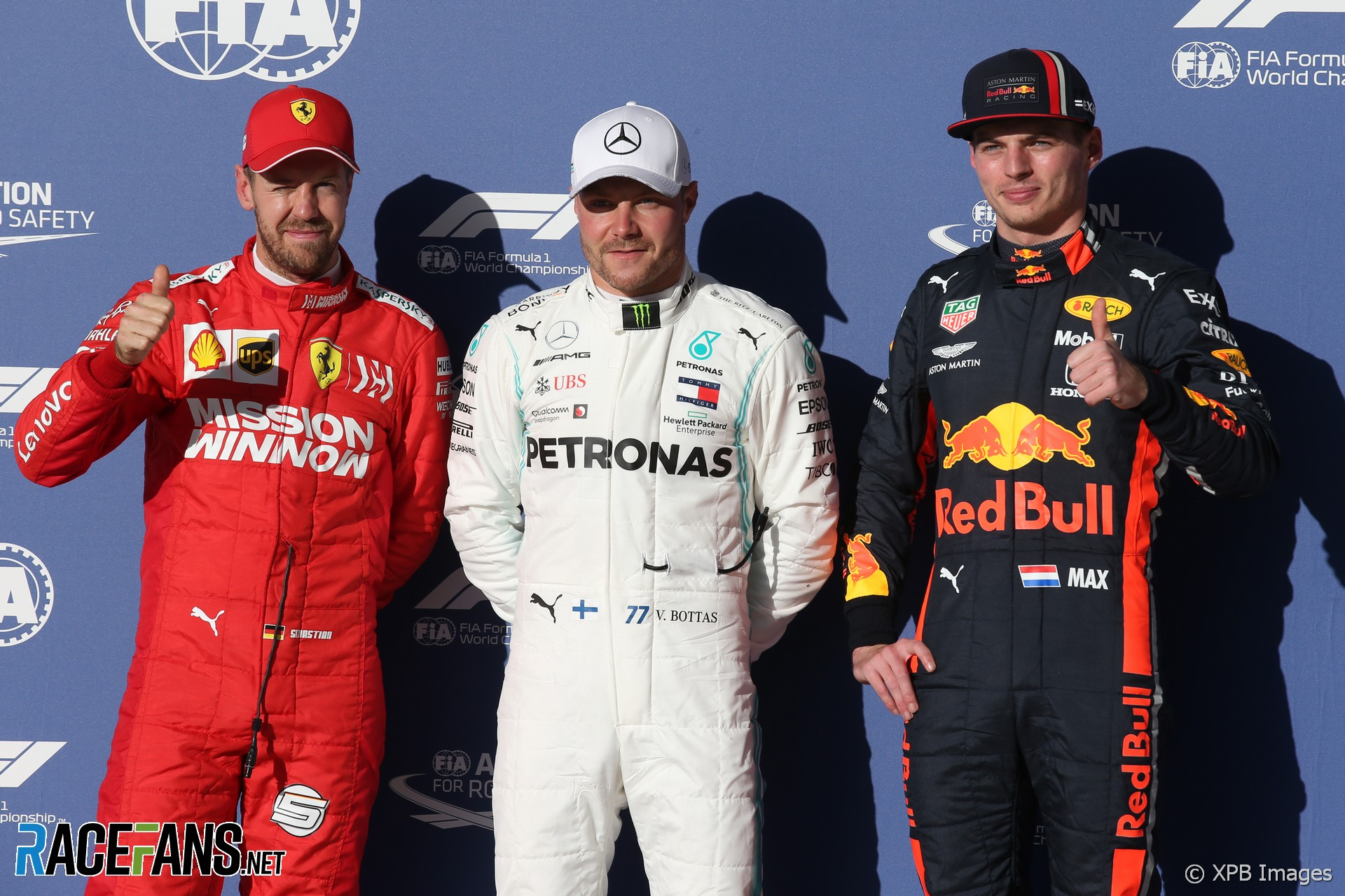 Valtteri Bottas, Mercedes, Circuit of the Americas, 2019