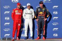 Sebastian Vettel, Valtteri Bottas, Max Verstappen, Circuit of the Americas, 2019