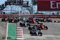 Start, Circuit of the Americas, 2019
