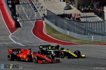Daniel Ricciardo, Sebastian Vettel, Circuit of the Americas, 2019
