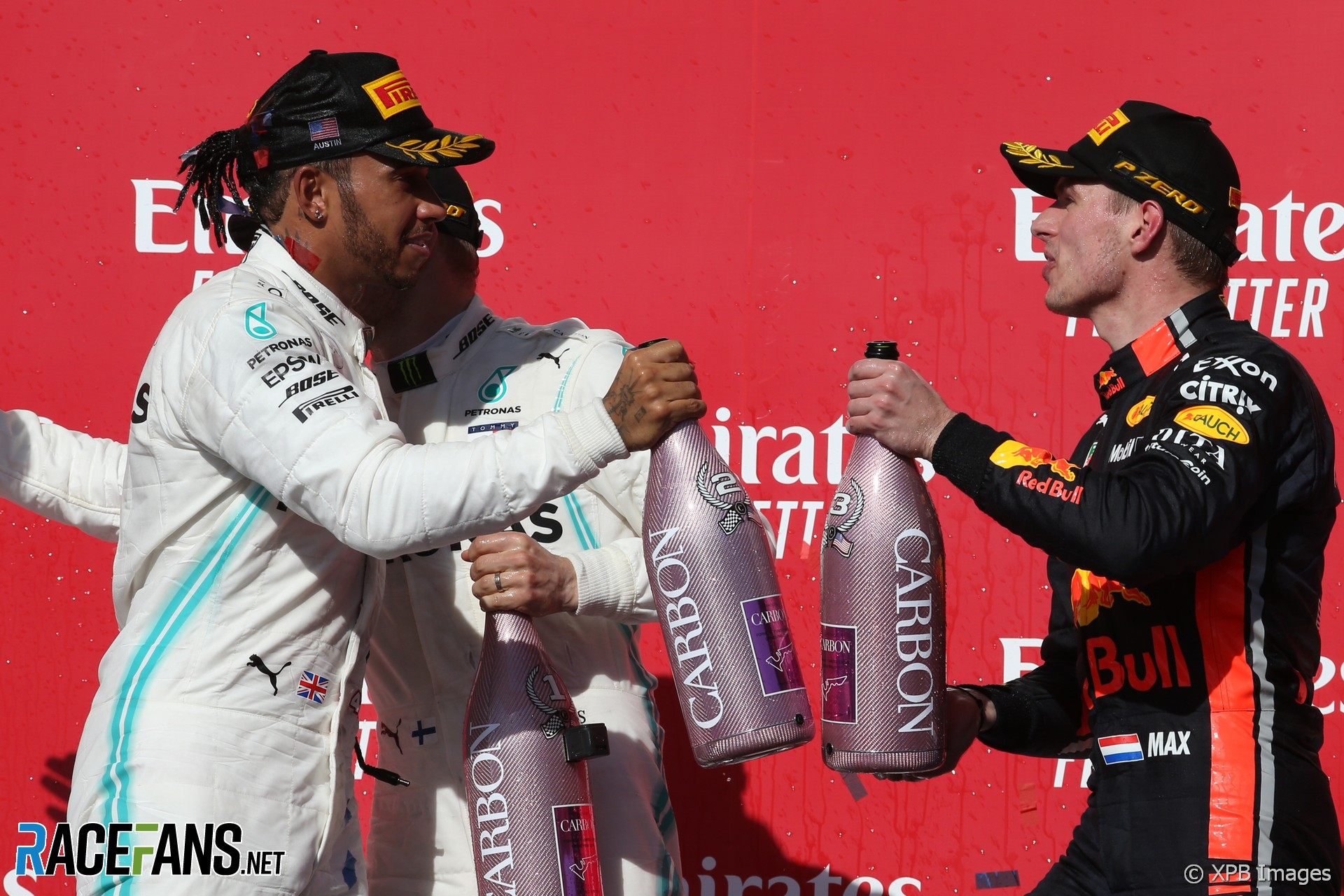 Lewis Hamilton, Max Verstappen, Circuit of the Americas, 2019