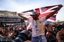 Pictures: Hamilton celebrates his sixth world championship