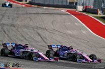 Sergio Perez, Lance Stroll, Racing Point, Circuit of the Americas, 2019