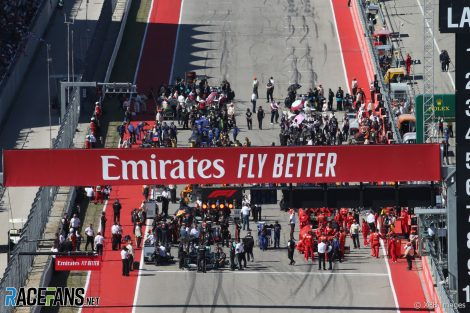 Grid, Circuit of the Americas, 2019
