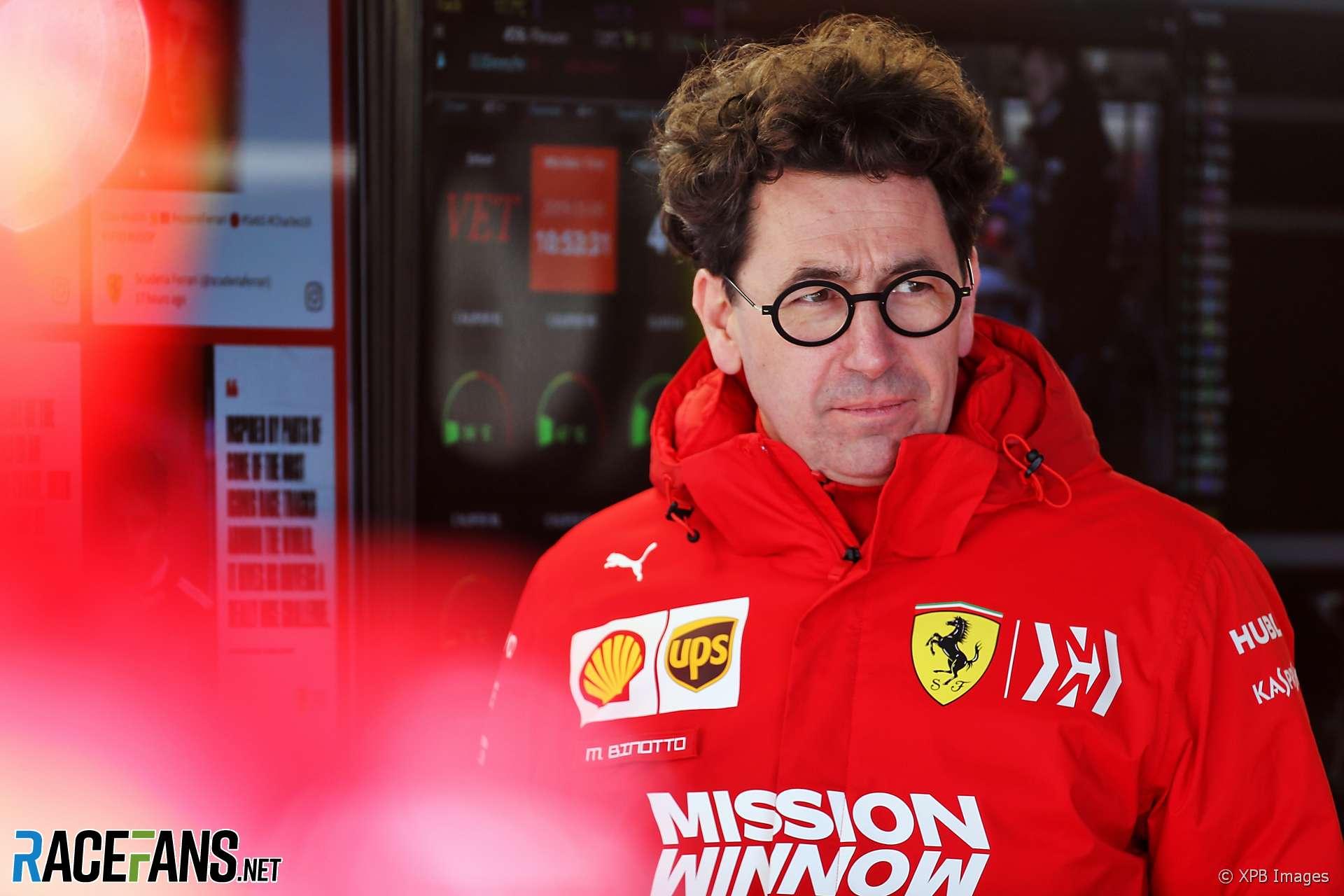 Mattia Binotto, Ferrari, Circuit of the Americas, 2019