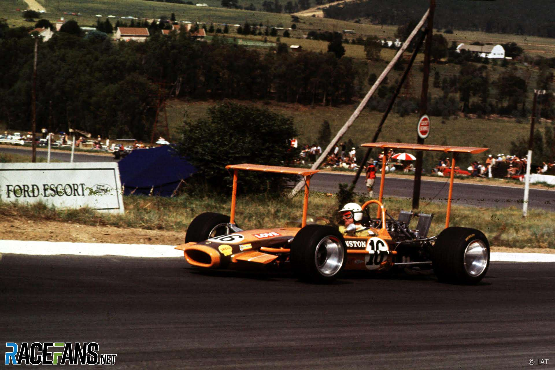 John Love, Lotus 49, Kyalami,91968