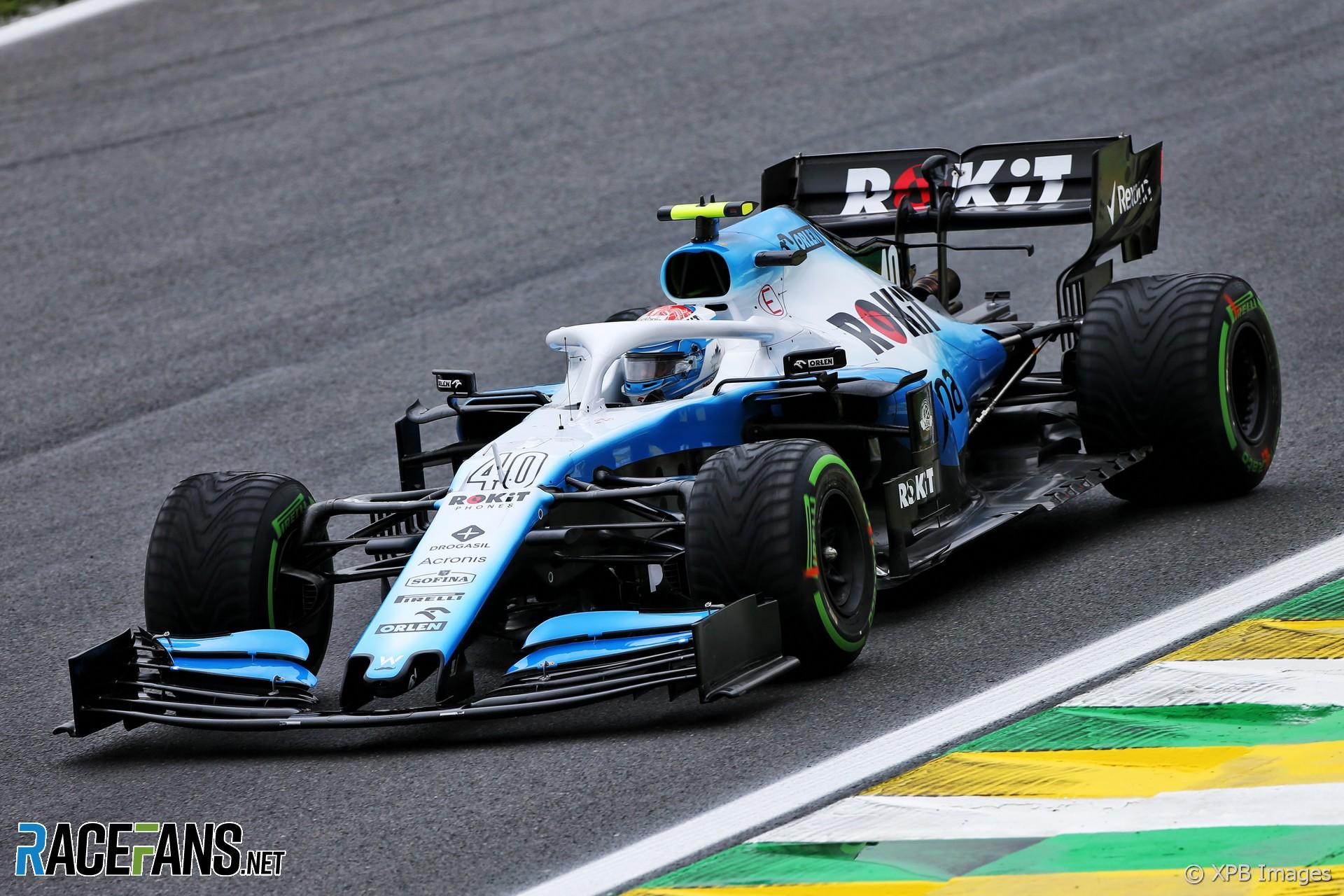 Nicholas Latifi, Williams, Interlagos, 2019