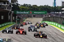 Verstappen wins drama-filled Brazilian GP as Vettel and Leclerc collide